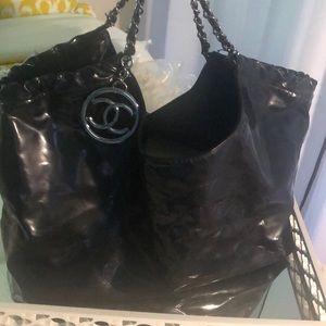 Vintage Chanel hobo bag